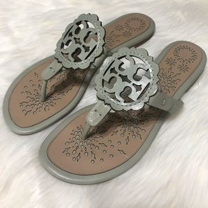 Tory Burch Shoes - {Tory Burch} Scalloped Miller Sandals